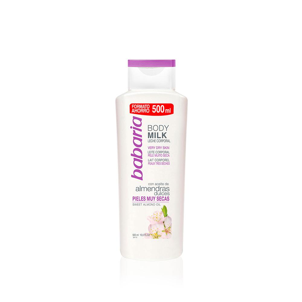 Babaria Body Milk Leche Corporal Almendras | Tiendas Colores